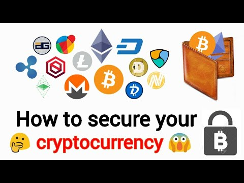 Where are cryptocurrency stored