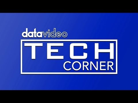 Datavideo Tech Corner #4: HDR-1 Recorder - Frequently Asked Questions