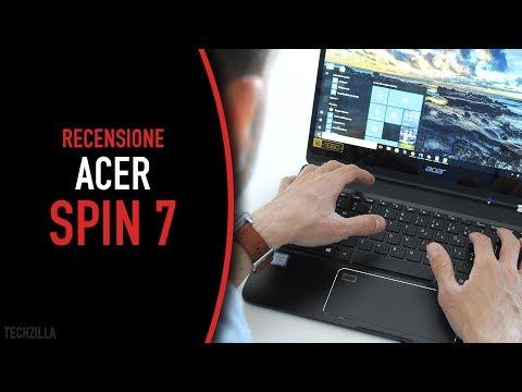 Il convertibile SOTTILISSIMO diventa ancora più COMPLETO - Acer Spin 7 Recensione