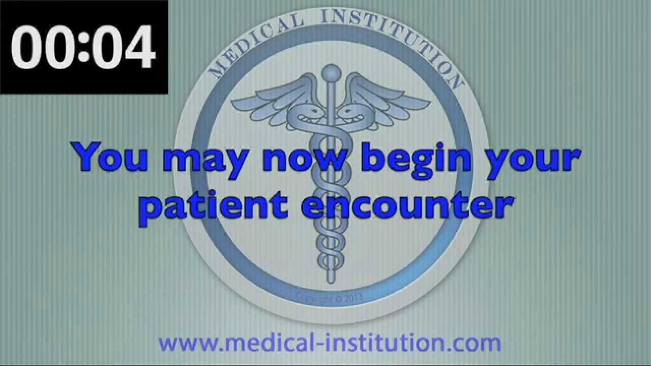 USMLE STEP 2 CS Practice Timer - Patient encounter plus Patient note