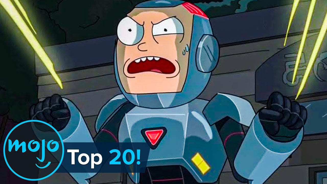 Top 20 Best Parodies on Rick and Morty