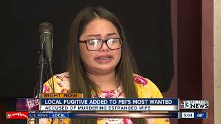 Las Vegas murder suspect added to FBI's 'Ten Most Wanted Fugitives' list