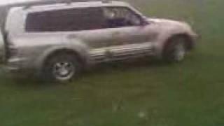 Mitsubishi montero limited TEST Drive
