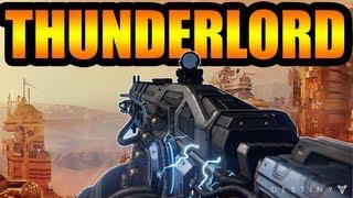 Destiny News - Thunderlord, Exotic Heavy Machine Gun, Rolling Thunder!