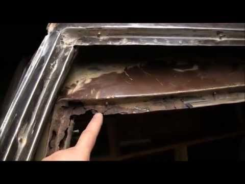 1969 El Camino Restoration Part 8b- Replacing the rusty outer A pillar upper section