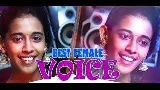 Best female voice |✩Priyanka ✩|Ennavale adi ennavale