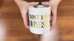 TRW Lab #12: Can You Press Foil To A Mug With A Mug Press?