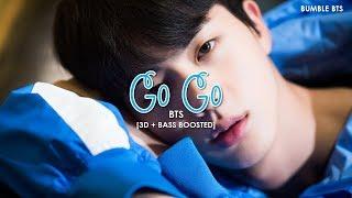 [3D+BASS BOOSTED] BTS (방탄소년단) - GO GO (고민보다 GO) | bumble.bts