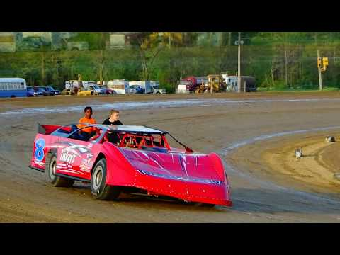 Kid Rides montage from Crystal Motor Speedway on 05-13-17