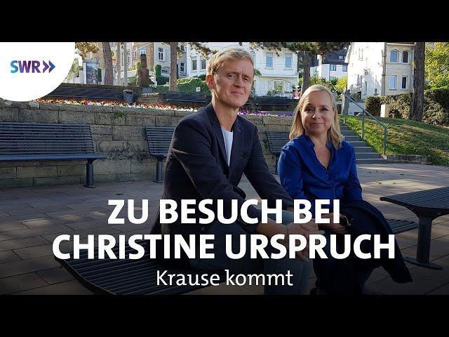 Zu Besuch bei Christine Urspruch | SWR Krause kommt
