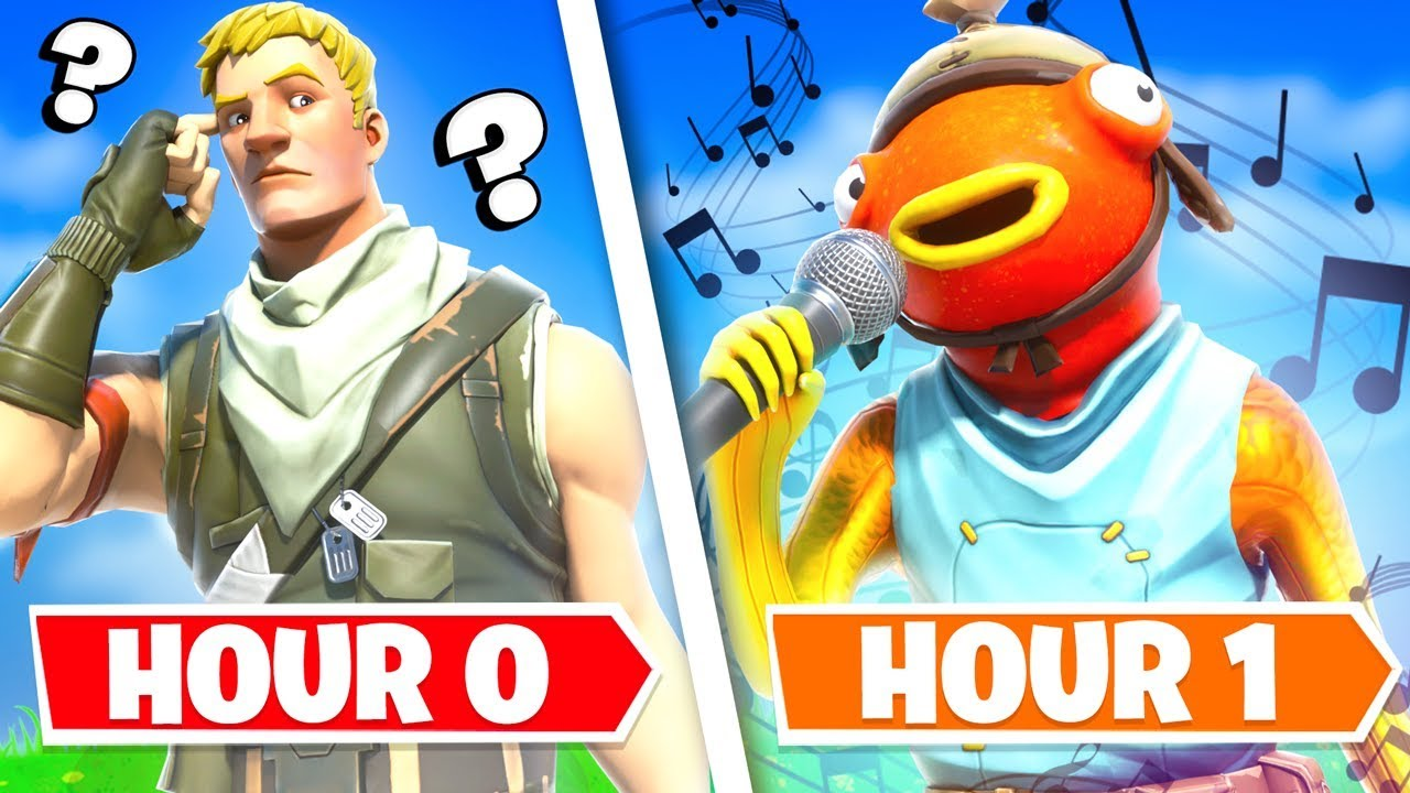 I Gave 10 Fortnite Players 1 HOUR to make me a SONG... (Fishy on me Remix)