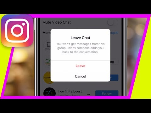 Download How To Leave A Group Chat On Instagram Dm 2019 MP3