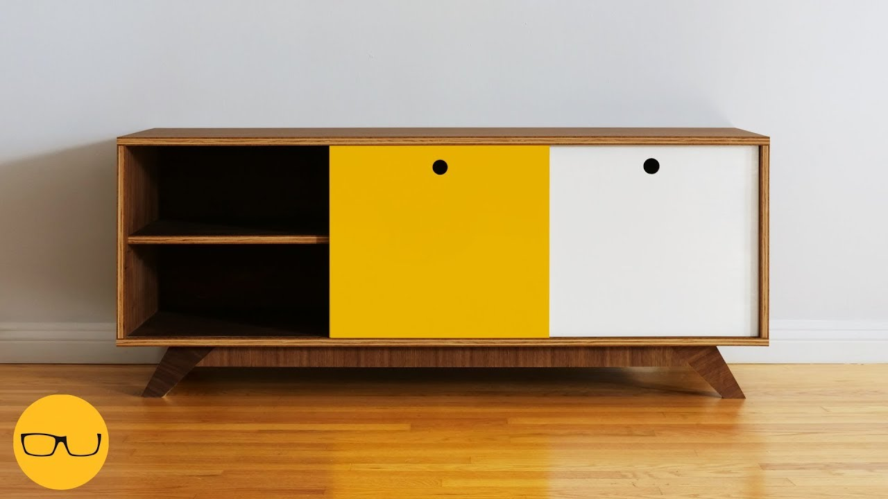 How To Build A Simple Diy Tv Stand Or Media Console Or Whatever ツ