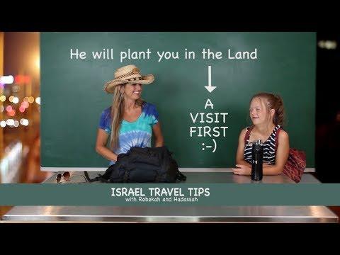 "Israel Travel Tips: ""Shalom and Passports"""