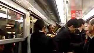En los metros de Paris
