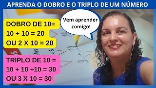 11a Aula - Matematica - Dobro e Triplo