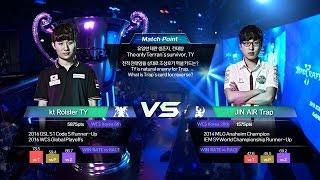 전태양 vs 조성호 케스파컵 4강 2경기 1세트 [16.10.03] 2016 스타크래프트 II KeSPA CUP