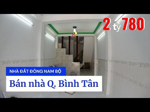 Video nhà bán quận Bình Tân dưới 3 tỷ, hẻm 184 Lê Đình Cẩn phường Tân Tạo quận Bình Tân