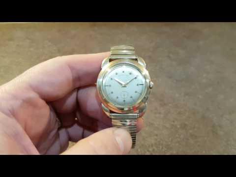 c1956 Hamilton Grenadier II vintage watch