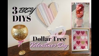 DOLLAR TREE DIY VALENTINES DAY DECOR IDEAS| Megan Navarro #DollarTreeDIY