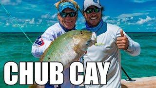Chub Cay Bahamas Deep Sea Fishing for Mahi Mahi and Mutton Snapper