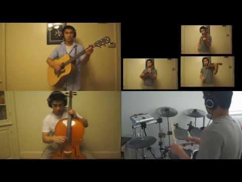 Tian Mi Mi (As Sweet as Honey) [Violin, Guitar, Cello, Drums Cover]