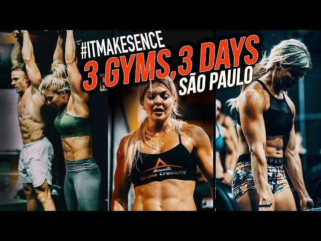 Brooke Ence - 3 Gyms, 3 Days, São Paulo