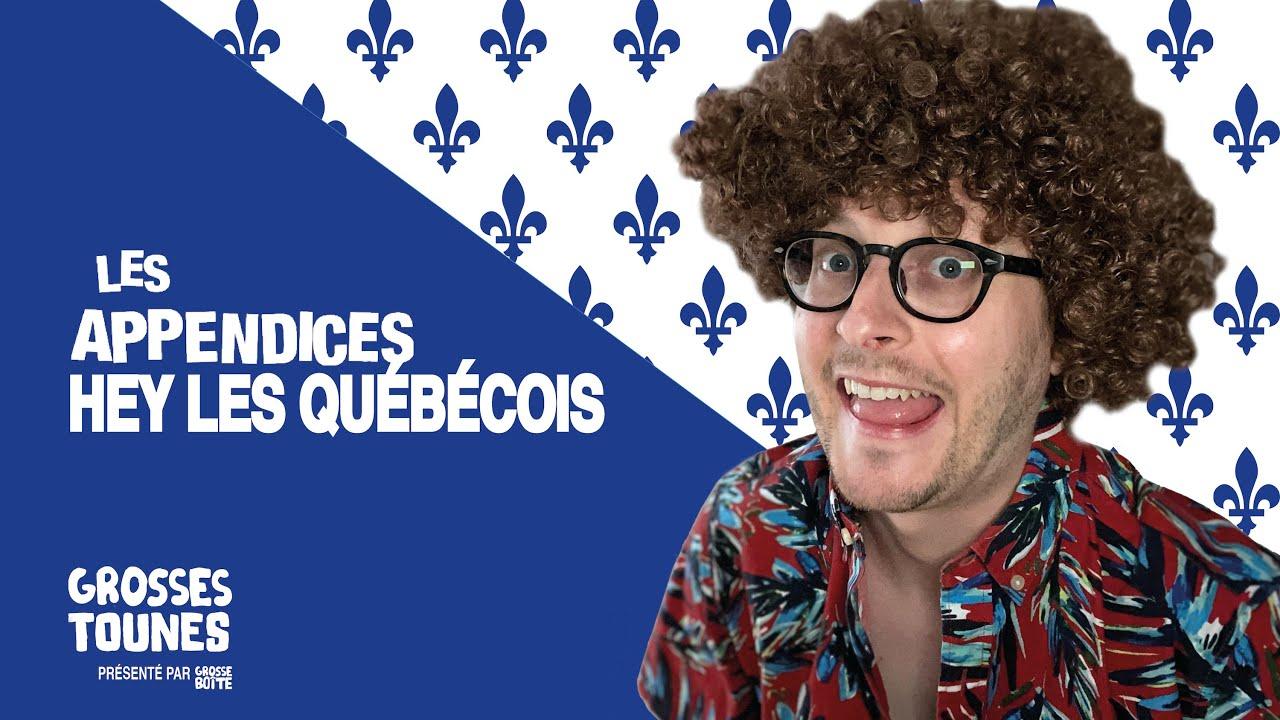 Grosses Tounes présenté par Grosse Boîte - Hey les Québécois par Les Appendices