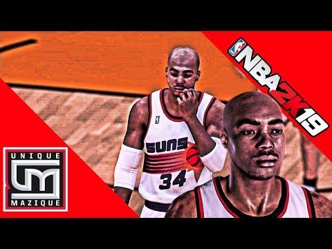 NBA 2K19 - Legends - How To Create Charles Barkley - 1992-93 Suns