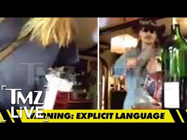 Johnny Depp & Amber Heard\: The Explosive Fight | TMZ Live
