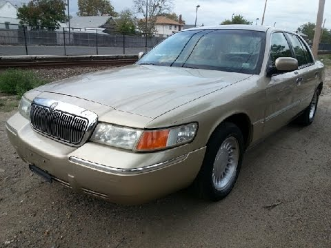 look at a 2000 mercury grand marquis ls youtube. Black Bedroom Furniture Sets. Home Design Ideas