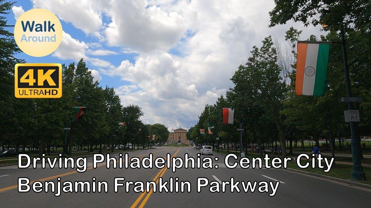 【4K60】 Driving - Philadelphia City Driving #3
