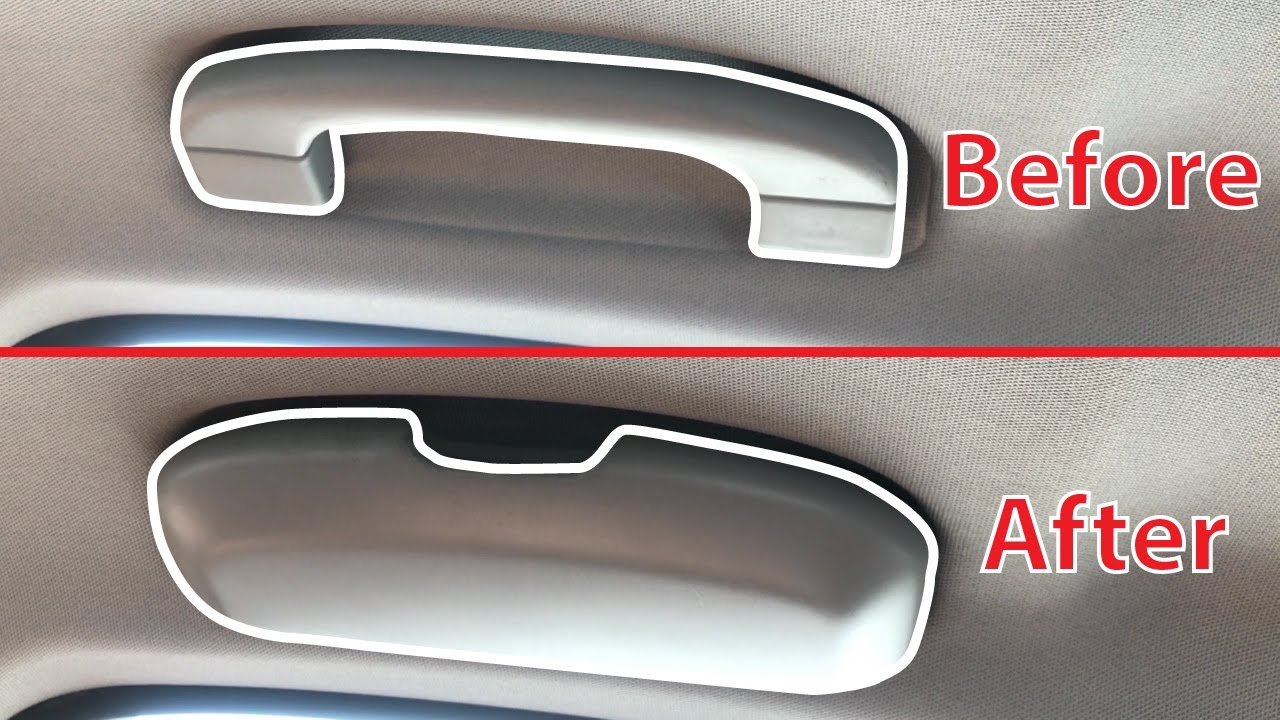 Replace Car Grab Handle With Sunglasses Holder Youtube