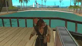 GTA: San Andreas: Jack Sparrow Mod Video + Download Link