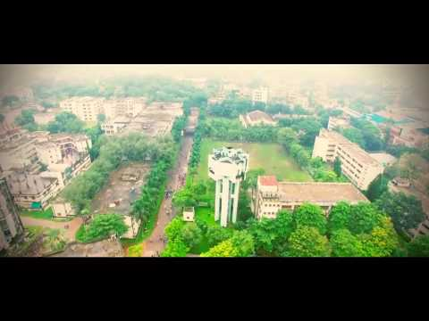 Aerial view of Dhaka University of Engineering & Technology, Gazipur (DUET) captured by Drone