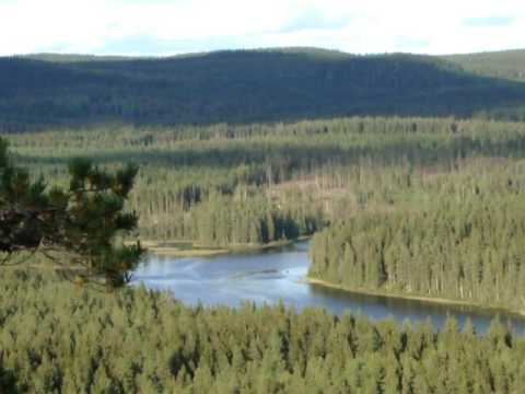Predikstolen viewpoint Dalarna Sweden,  Scandinavia roadtrip 2016