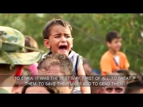 Israeli Doctors Treating Syrian Refugees