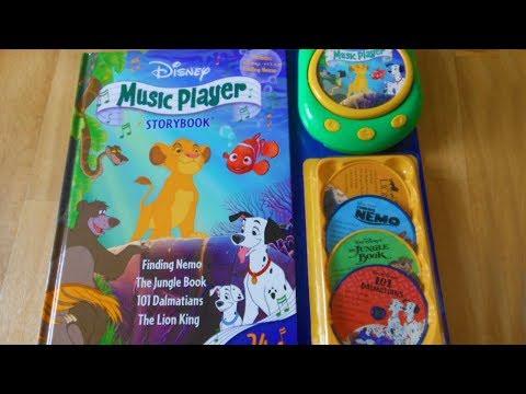 Disney music player storybook