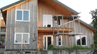 Окна Rehau, установка пластиковых окон в каркасном доме в Рес.Молдове(Ну о-о-о-о-о-очень своеобразный дом. На нашем веку - это первый, надеемся - не последний. Своеобразный дом по..., 2016-08-08T14:13:24.000Z)