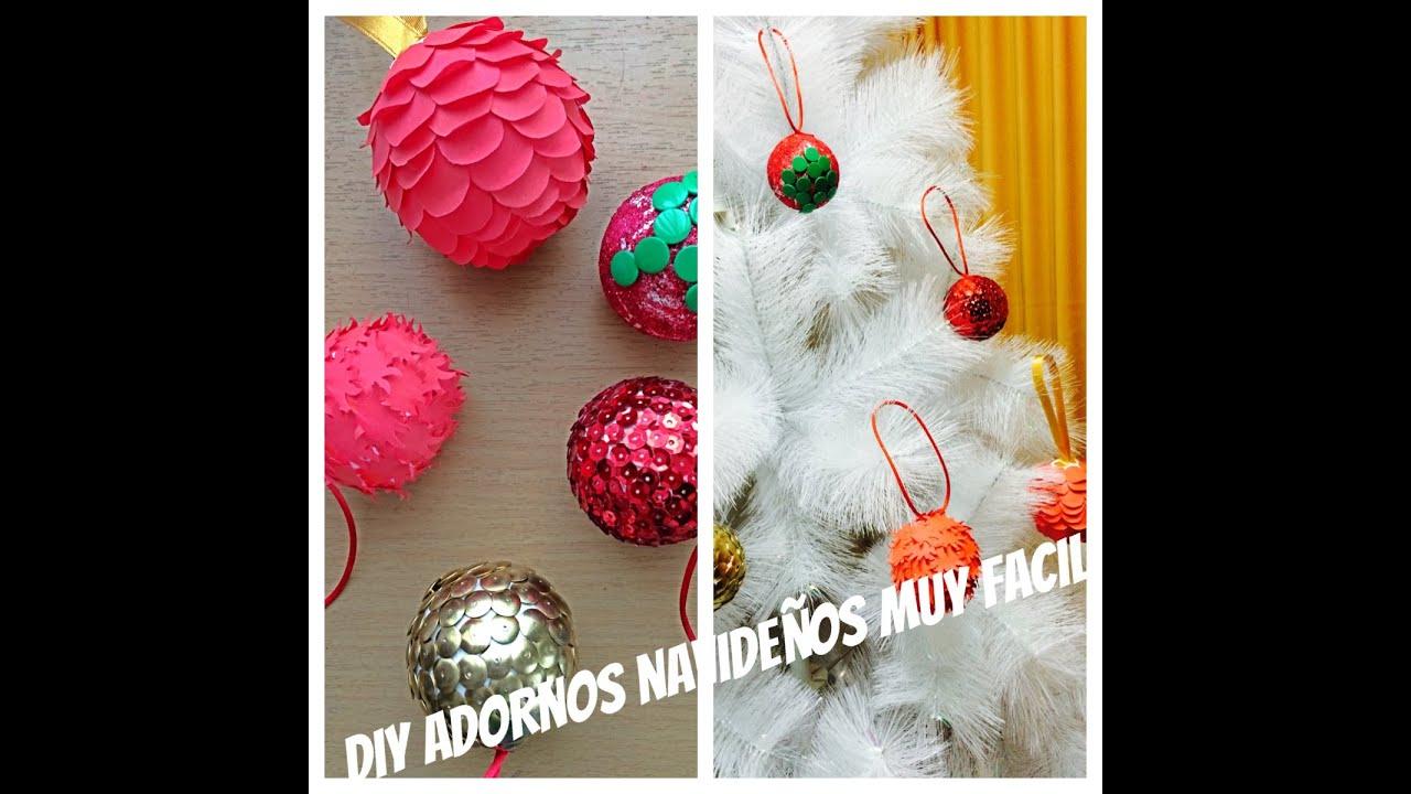 diy adornos para el arbol de navidad facil y bonito