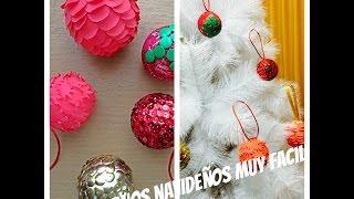 DIY - Adornos Navideños muy fácil - malir15 Thumbnail