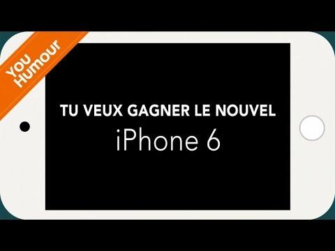 Un iPhone 6 à Gagner ! Crée ton spot de pub