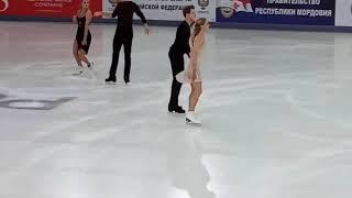 Синицина-Кацалапов. ЧР 2019 Саранск. Разминка ПТ