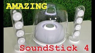 Kiệt tác nghệ thuật từ Harman Kardon - HK SoundSticks 4 what an amazing sound!