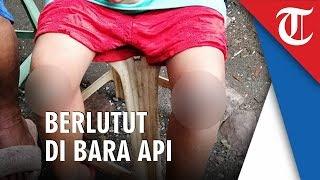 Gadis 8 Tahun Dipaksa Ibunya Berlutut di Atas Arang Membara karena Lupa Bawa Pulang Tas