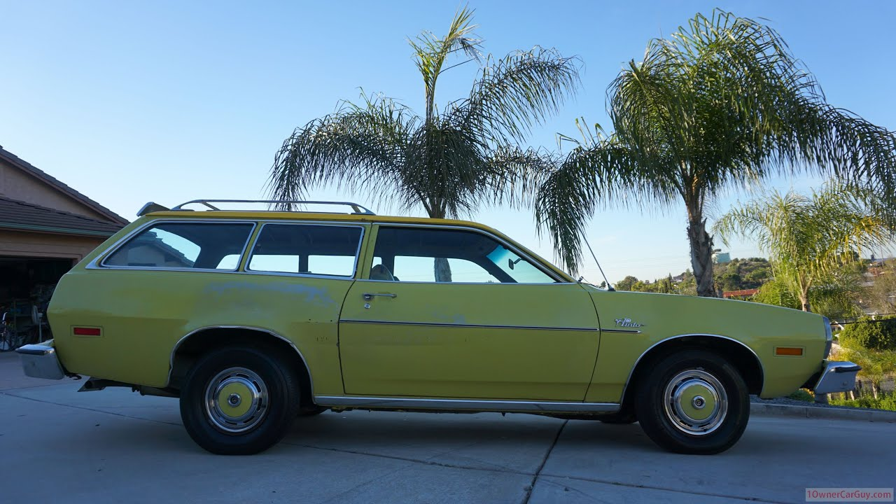Ford Pinto Video Review Station Wagon Pony Runabout Test Drive ...
