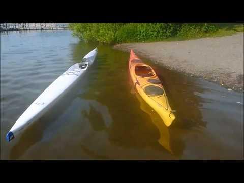 Kayak vs Surfski: