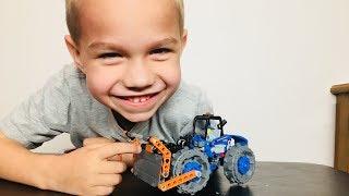 Lego set 42071 Dozer Compactor-Skit Build and Play