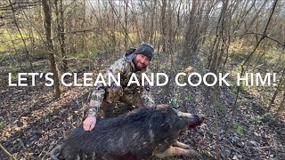 Catch Clean & Cook MONSTER Wild Boar (Feed the hungry)