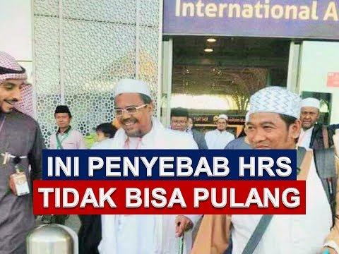 Penyebab Habib Rizieq Belum Bisa Pulang